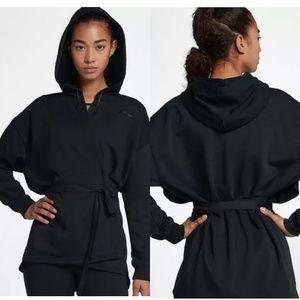 Nike Women Kimono Training Wrap Hoodie 889204-010